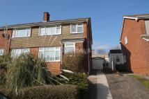 semi detached property in South View Drive, Rumney...