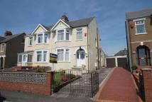 semi detached house for sale in Uplands Road, Rumney...