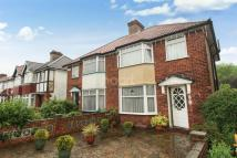 The semi detached property for sale