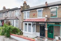 Terraced house in Crofton Park Road...