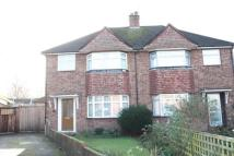 3 bed semi detached home in Wolsey Road