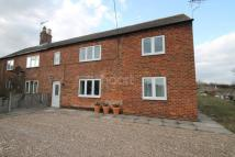 semi detached property for sale in Lincoln Road, Fenton