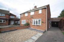 Hornsby Close semi detached house to rent