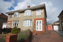 3 bedroom semi detached house to rent in Kelston Grove, Hanham...