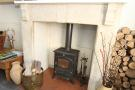 Log Burner Dining Ro