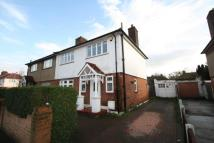 semi detached property in Gaysham Avenue