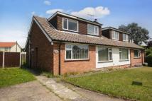 semi detached house in Valley Close, Brantham...