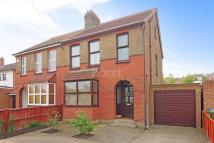 3 bed semi detached property in Minster Road...
