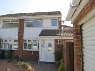 semi detached house in Sherwood Close, Harraton...