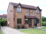 2 bed semi detached home in Oakfield Close, Brigg