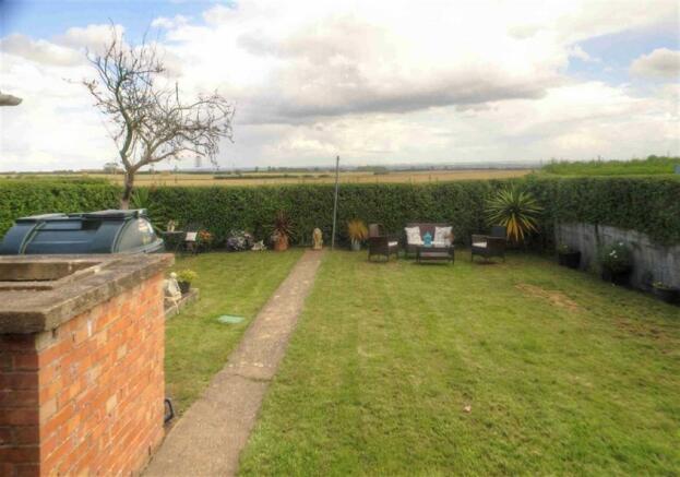 Rear Garden and Views Beyond