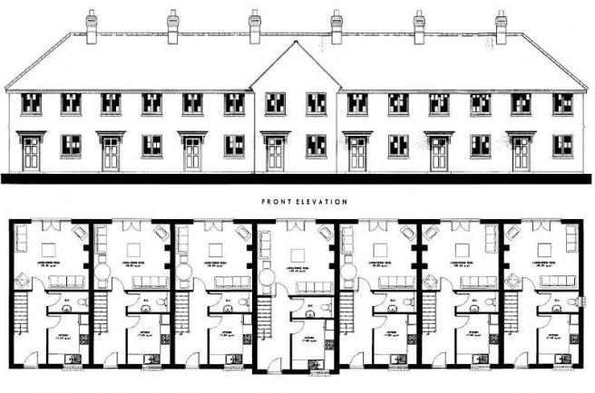 The hatfield house plan House and home design