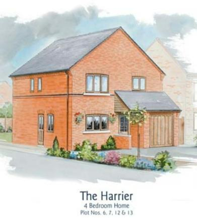 4 bedroom detached house for sale in sir frank whittle for Modern homes leamington
