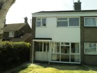 semi detached house in Redwood Close...