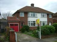 semi detached property in Wendover Drive