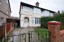 semi detached house in Larchwood Drive Bebington