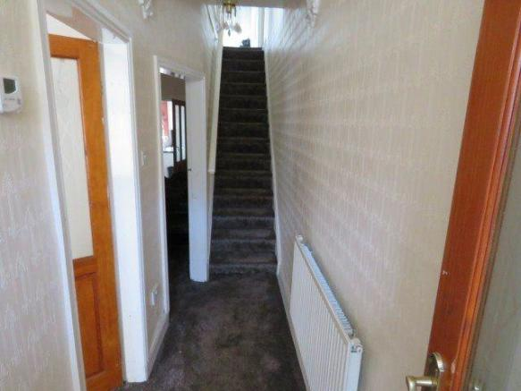 HALLWAY STAIRS AND L