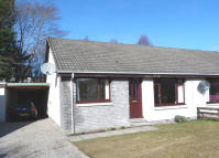 2 bed semi detached home for sale in Spey Avenue, Aviemore...