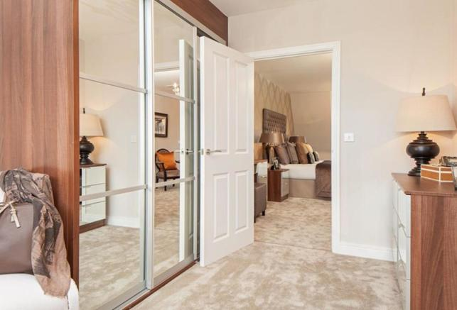 Similar David Wilson Show Home Dressing Area