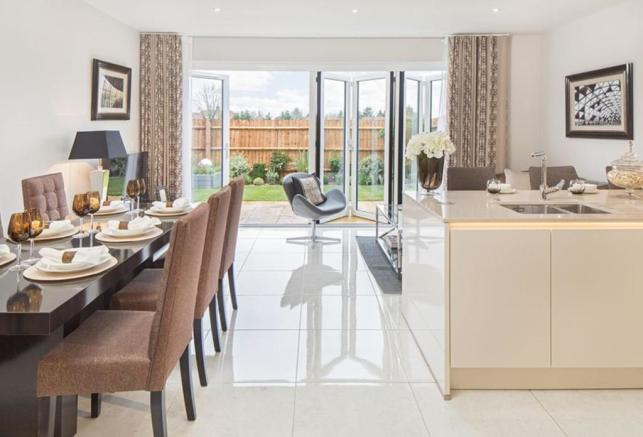 Oakwell Grange Show Home Family/Dining