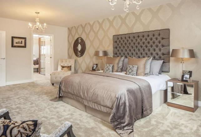 Oakwell Grange Show Home Master Bedroom