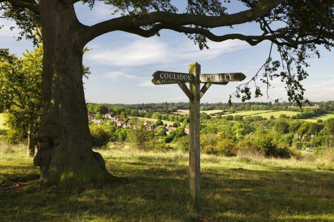 Coulsdon countryside