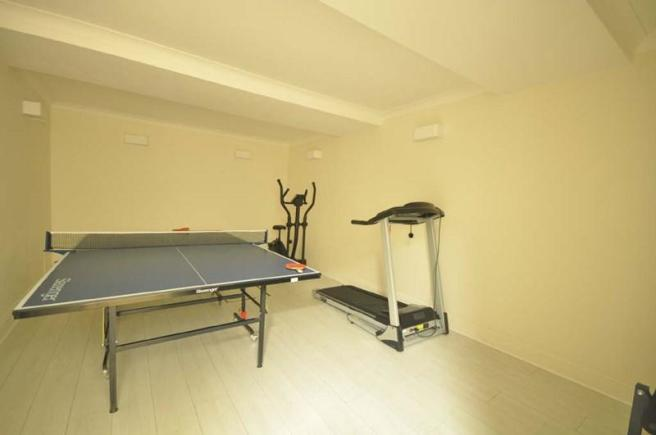 basement - gym