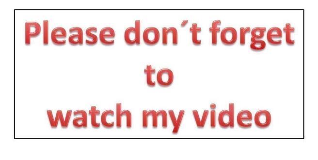 video reminder
