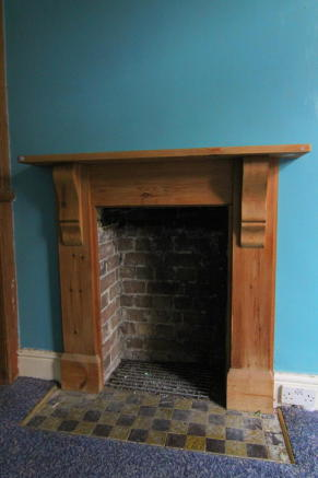 Dining Fireplace