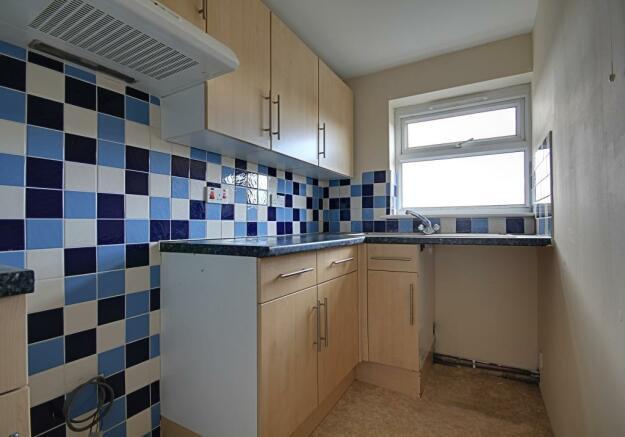 Kitchen in first floor flat