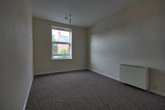 Bedroom in first floor flat