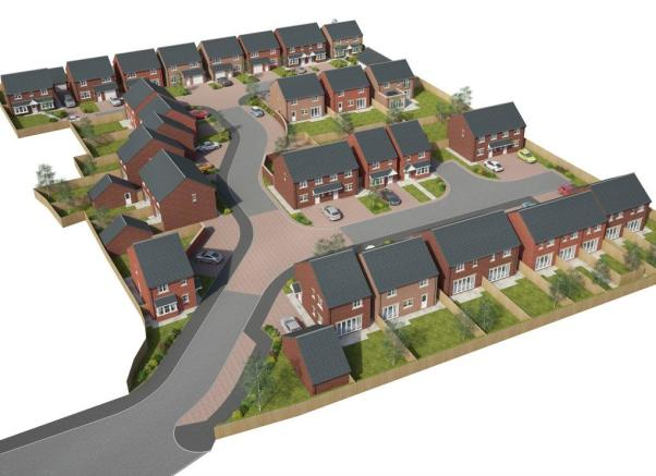 Site overview CGI