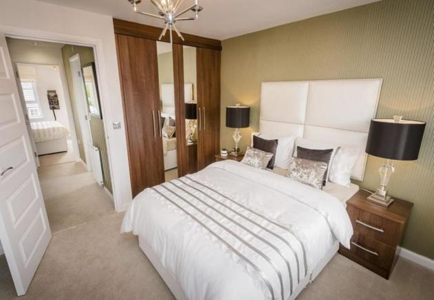 Fawley double bedroom