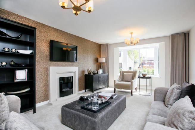Actual image of Chelford Showhome at Bramley Wood