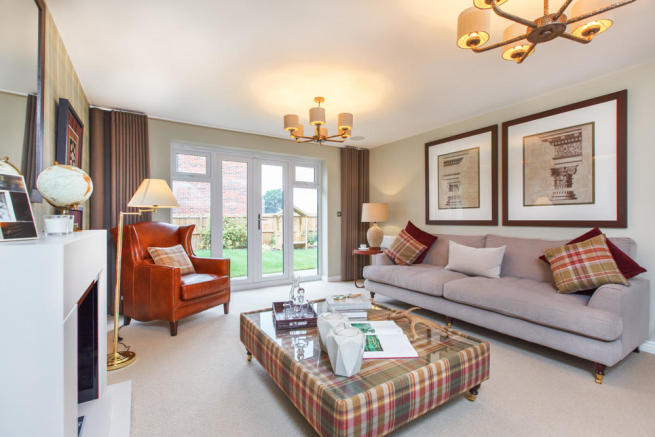 Actual Image of The Lavenham showhome at Bramley Wood