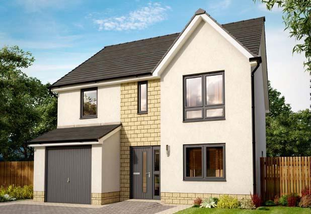 4 bedroom detached house for sale in stewarton road
