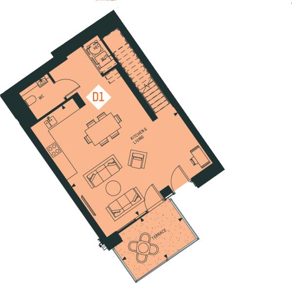 Duplex 1 CM GF