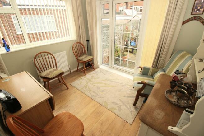 Bedroom 2/Sunroom.