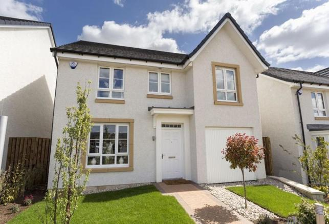 4 bedroom detached house for sale in glasgow road for Living room kilmarnock