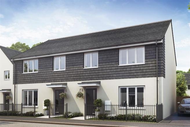 Artist impression of a typical Monkford home