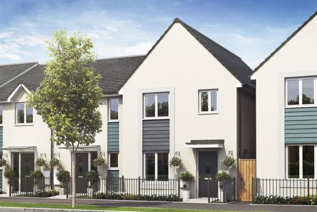Artist impression of a typical Flatford home