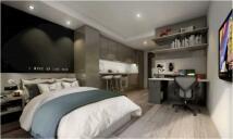 new Studio flat in Beith Street, Glasgow