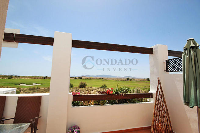 Private terrace view