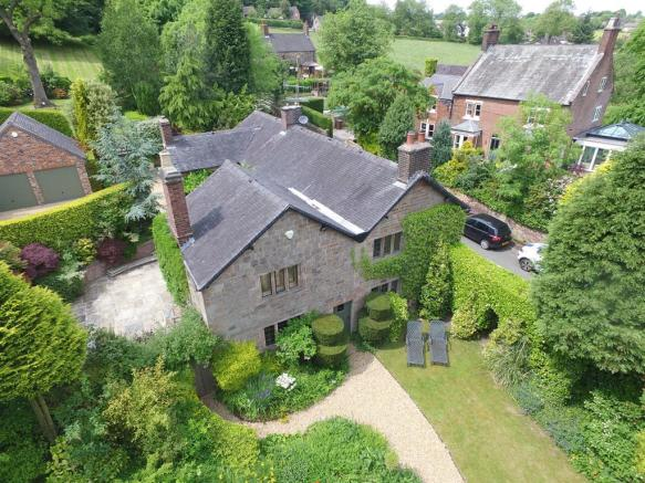 Aerial Shot of Front Aspect