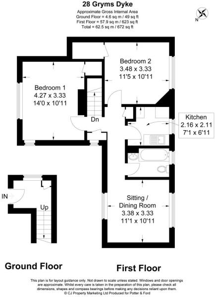 38 Gryms Dyke floor