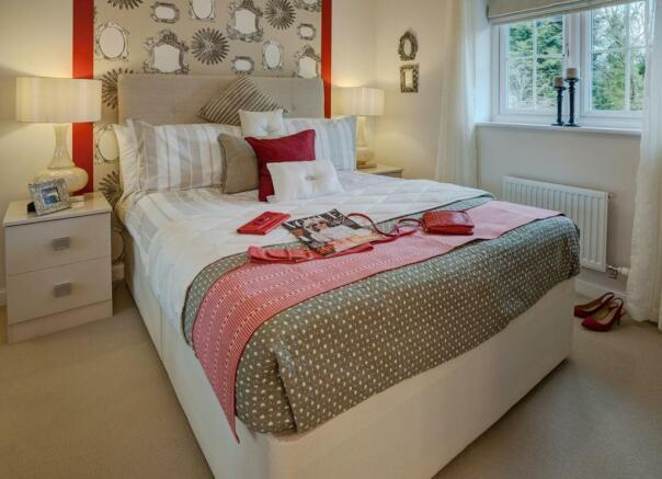 Wymeswold bedroom