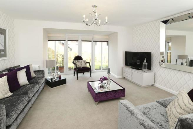 Two bedroom Buckminster lounge