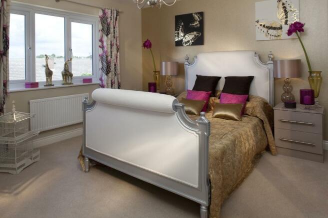 Two bedroom Buckminster bedroom