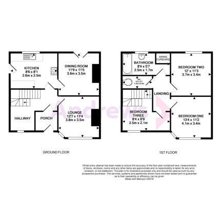 12 Carlton Road - Floorplan
