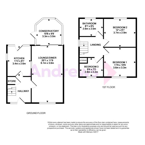 81 Mawney Road - Floorplan